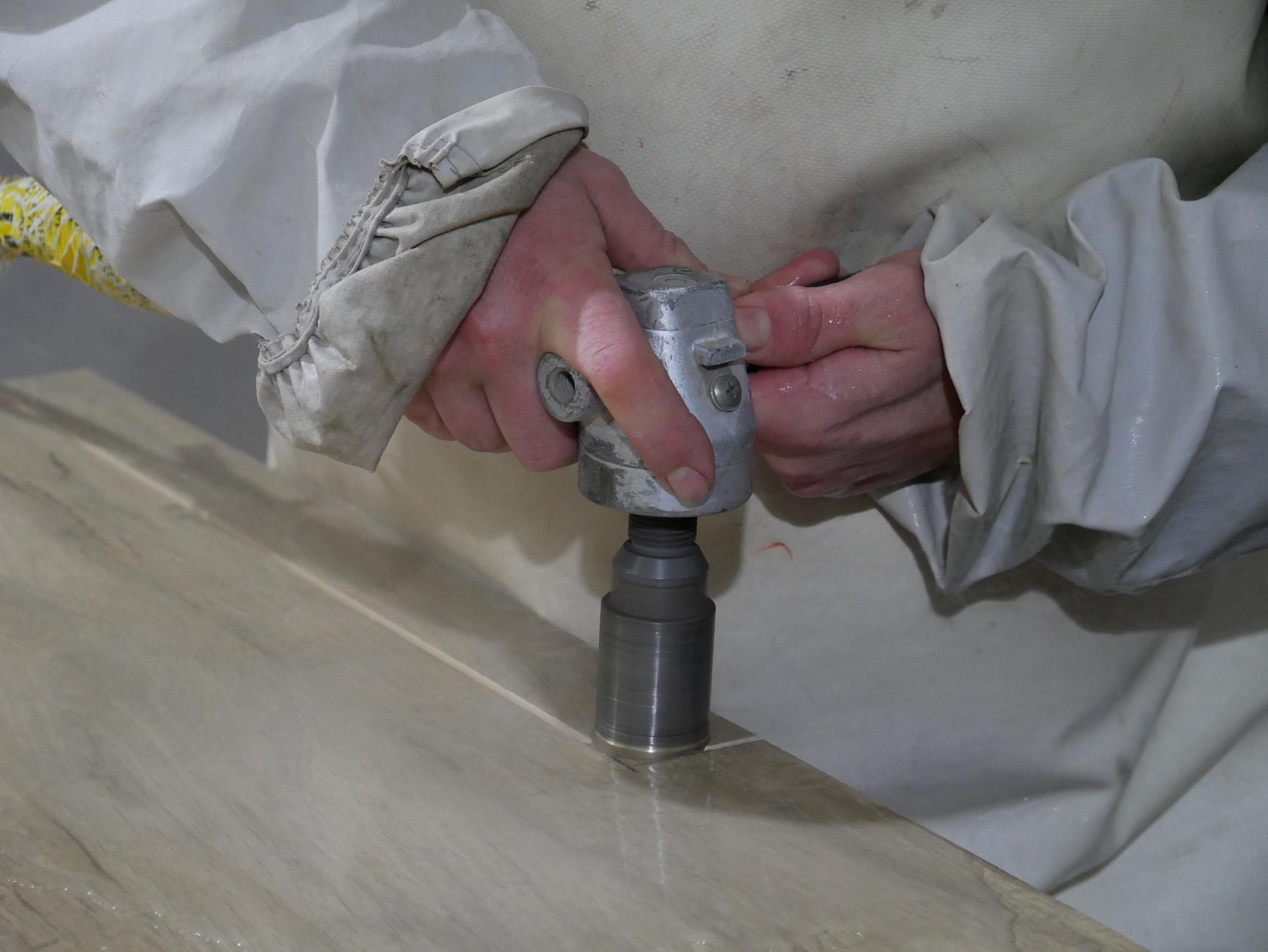 El mármol como material