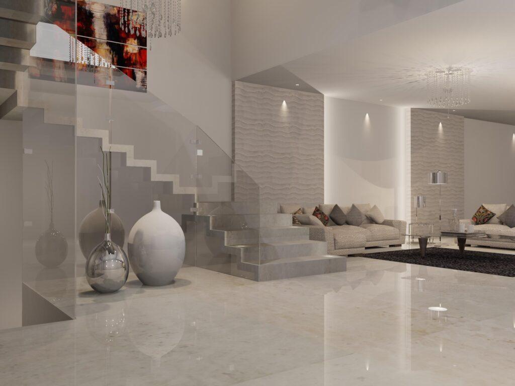 Tendencia en decoración mármoles